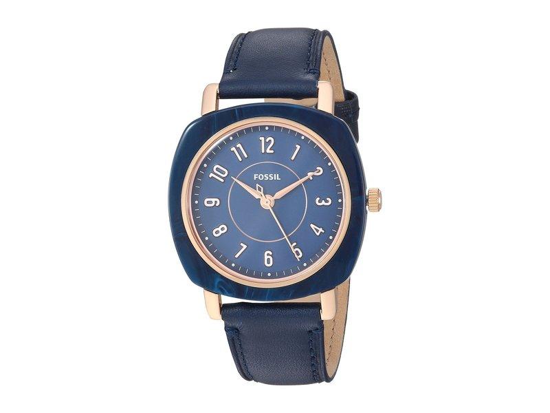 フォッシル レディース 腕時計 アクセサリー Idealist - ES4280 Black Leather