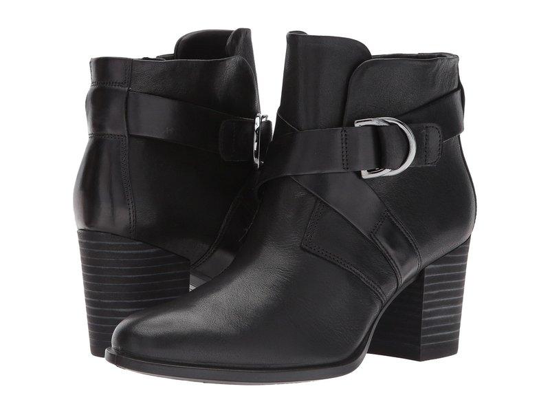 エコー レディース ブーツ・レインブーツ シューズ Shape 55 Mid Cut Boot Black/Black