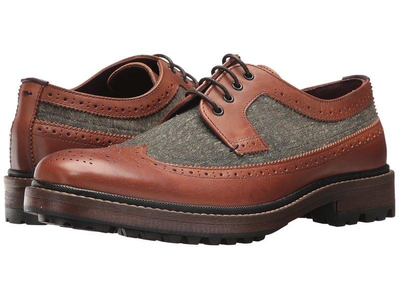 テッドベーカー メンズ オックスフォード シューズ Casbo Tan/Multi Leather