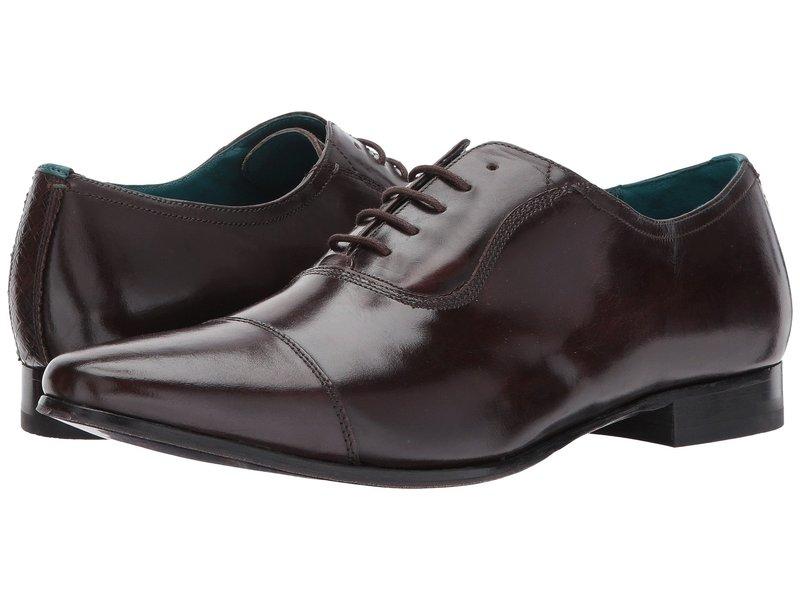 テッドベーカー メンズ オックスフォード シューズ Spiroe Brown Leather