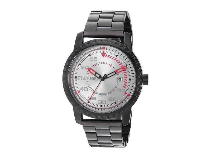 スティーブ マデン メンズ 腕時計 アクセサリー SMW143 Black/Black