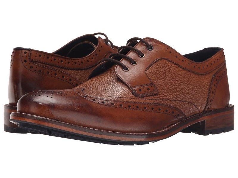 テッドベーカー メンズ オックスフォード シューズ Cassiuss 4 Tan Leather