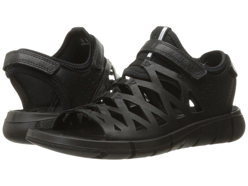エコー レディース サンダル シューズ Intrinsic Sandal 2 Black/Black
