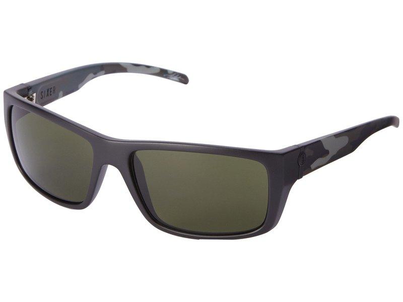 エレクトリックアイウェア メンズ サングラス・アイウェア アクセサリー Sixer Matte Black Camo/M Grey
