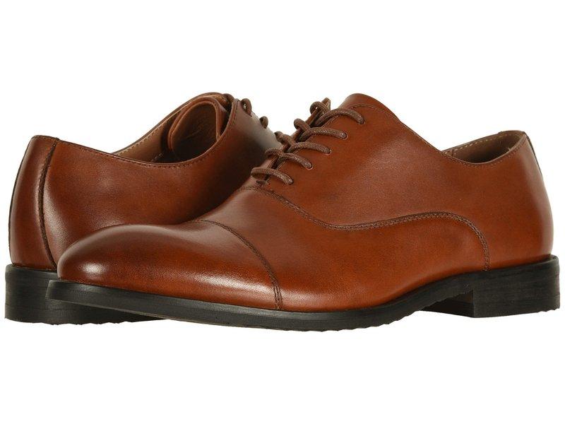 フライ メンズ オックスフォード シューズ Scott Cap Toe Cognac Leather
