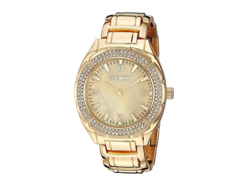スティーブ マデン レディース 腕時計 アクセサリー SMW099G Gold