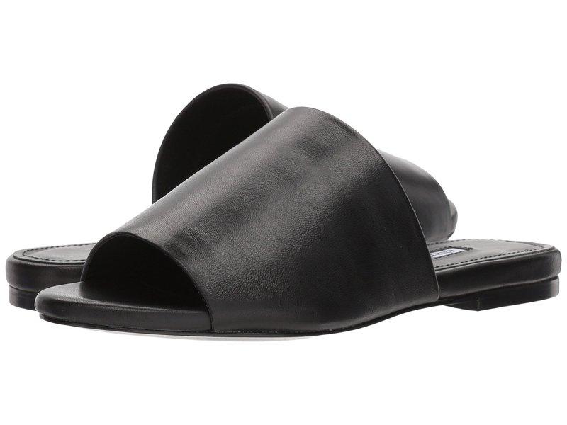 チャールズ・デイビッド レディース サンダル シューズ Slider Black Leather