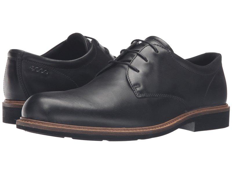 エコー メンズ オックスフォード シューズ Findlay Plain Toe Tie Black