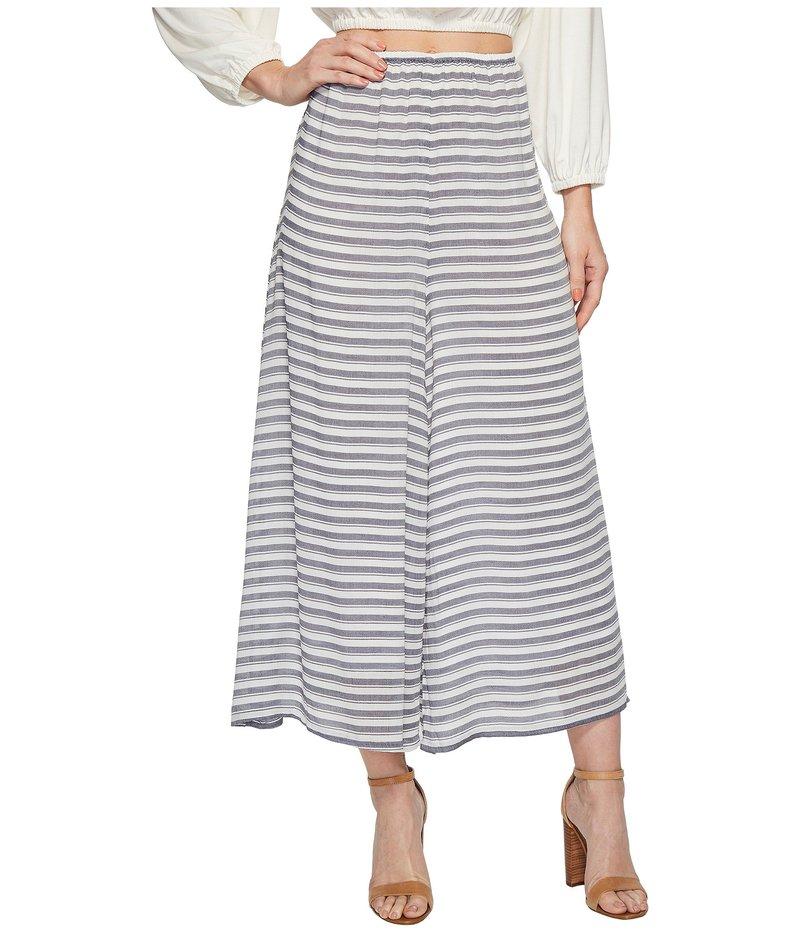 レイチェルパリー レディース カジュアルパンツ ボトムス Rayon Cropped Pants Blue/White Stripe