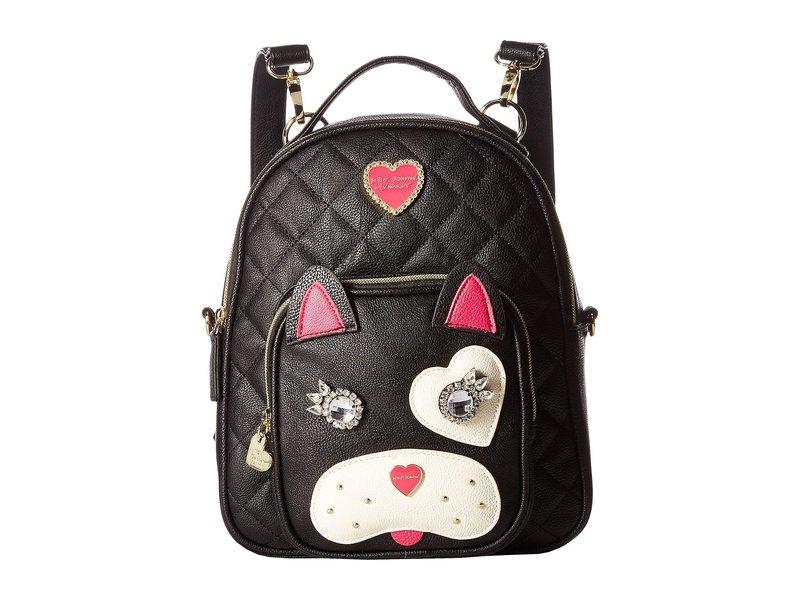 ベッツィジョンソン レディース バックパック・リュックサック バッグ Convertible Backpack Black