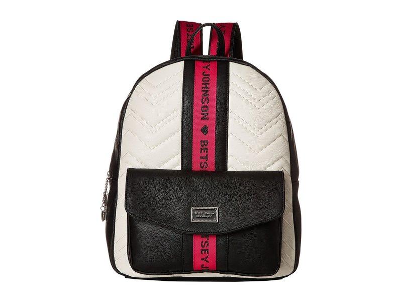 ベッツィジョンソン レディース バックパック・リュックサック バッグ Backpack Black Multi