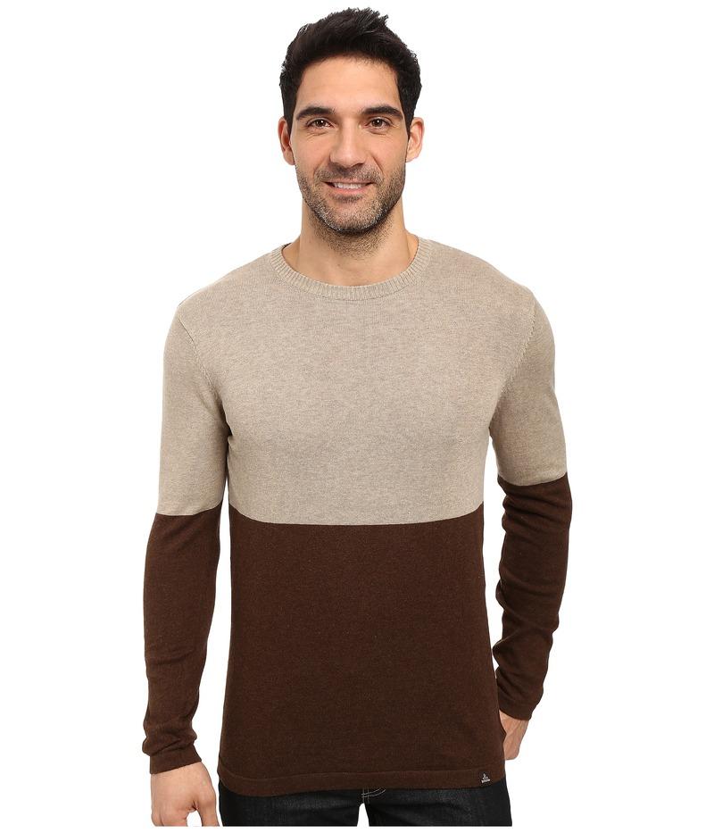 プラーナ メンズ ニット・セーター アウター Color Block Sweater Brown
