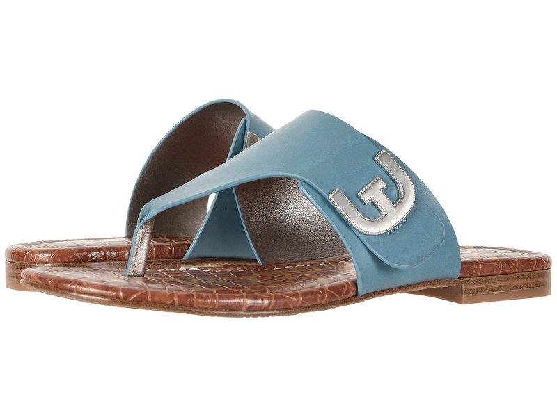 サムエデルマン レディース サンダル シューズ Barry Denim Blue Vaquero Saddle Leather
