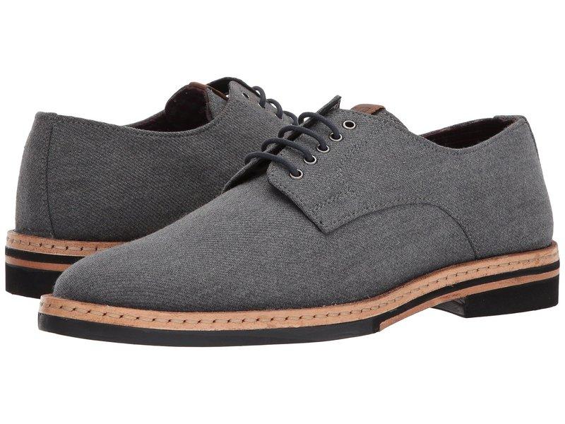 ベンシャーマン メンズ オックスフォード シューズ Julian Plain Toe Oxford Grey Wool