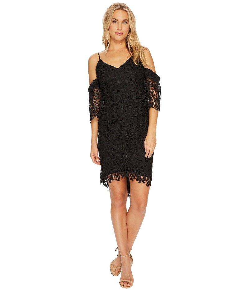 アドレイン ラエ レディース ワンピース トップス Krista High-Low Sheath Dress Black