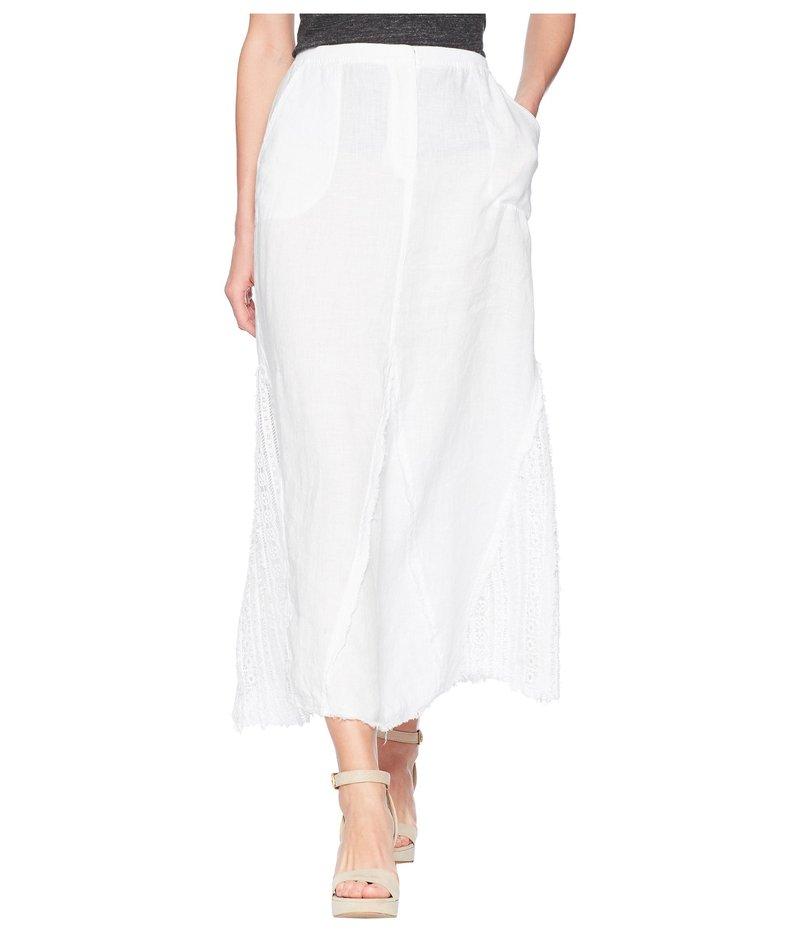 エックスシーブイアイ レディース スカート ボトムス Kendall Linen Skirt White