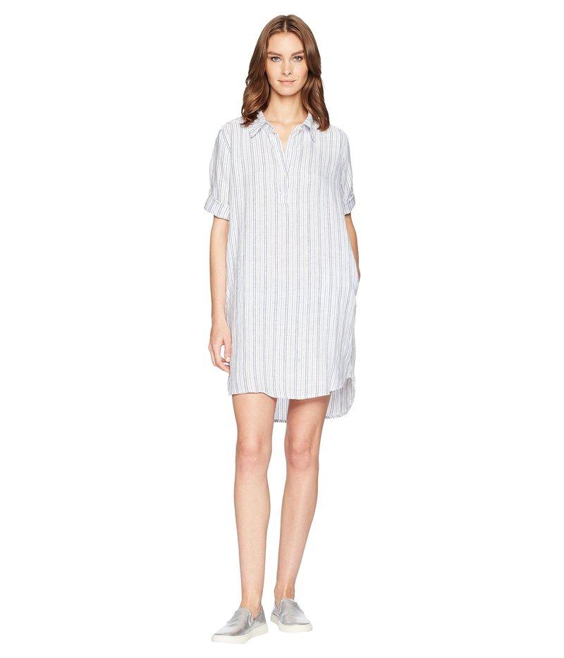 アレン アレン レディース ワンピース トップス Boxy Pullover Dress White