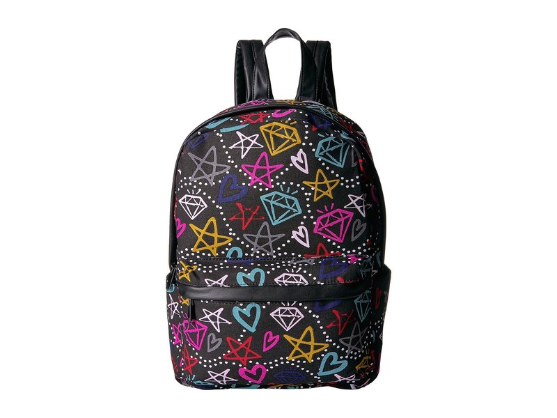 サムエデルマン レディース バックパック・リュックサック バッグ Graffiti Print Backpack Black/Multi Graffiti