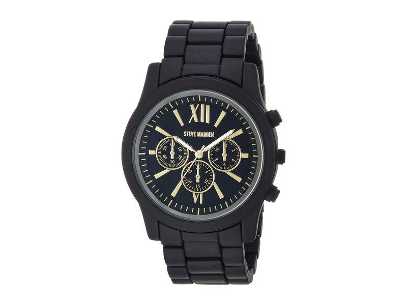 スティーブ マデン メンズ 腕時計 アクセサリー SMW094BK-G Black/Gold