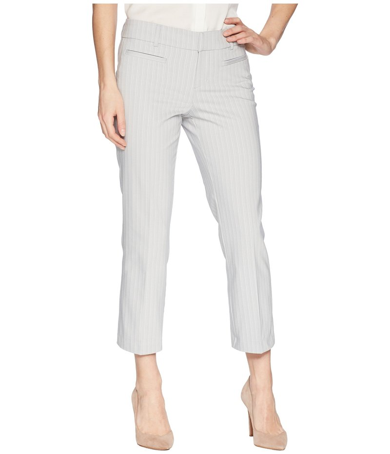 リバプール レディース カジュアルパンツ ボトムス Vera Cropped Trousers in Soft Stripe in High-Rise High-Rise