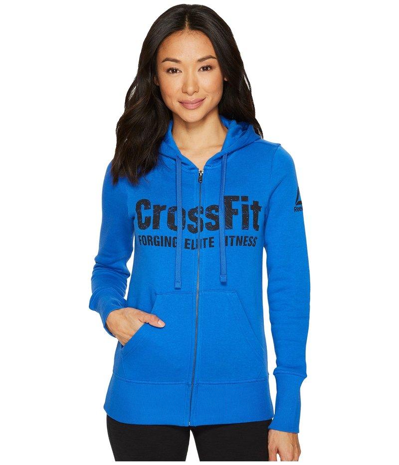 リーボック リーボック レディース パーカー・スウェット Blue アウター CrossFit Full Zip Full Hoodie Vital Blue, 犬猫の首輪店 すず首輪製作工房:bf21df2f --- jpm.mx