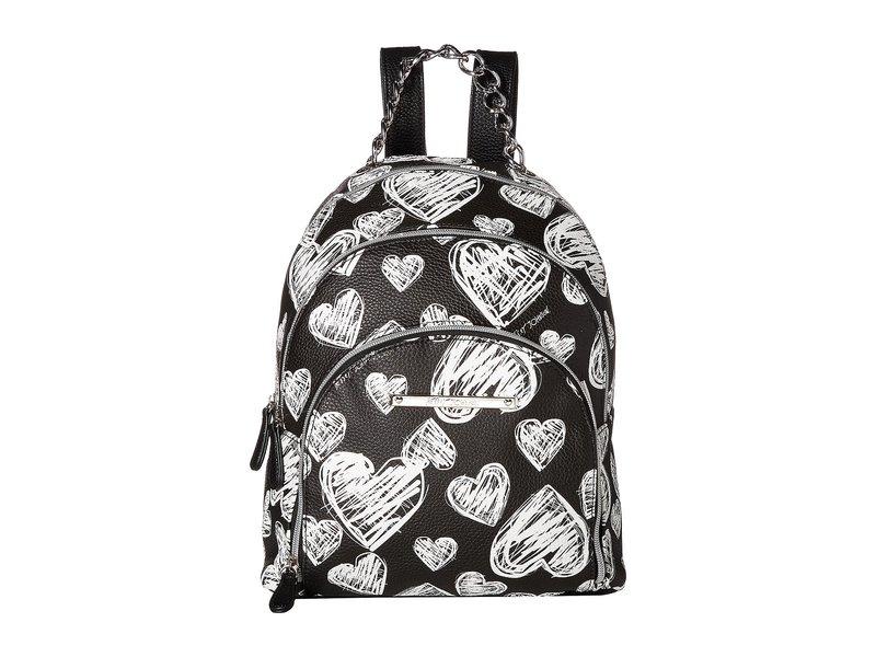 ベッツィジョンソン レディース バックパック・リュックサック バッグ Triple Zip Backpack Black/White