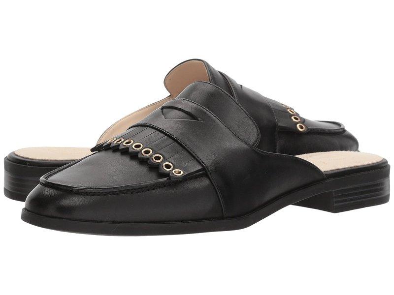 コールハーン レディース サンダル シューズ Pinch Kiltie Slide Black Leather