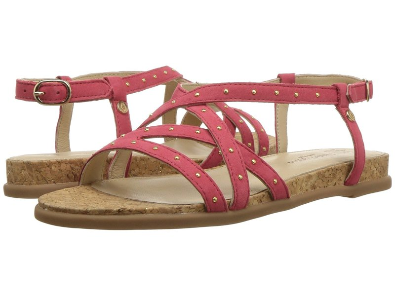ハッシュパピー レディース サンダル シューズ Dalmatian Pinstud Paradise Pink Nubuck