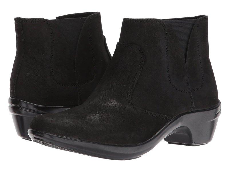 アラヴォン レディース ブーツ・レインブーツ シューズ Kitt Bootie Black Leather