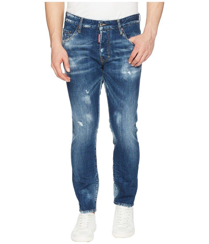 Wash Skater ボトムス デニムパンツ Butch Jean Blue メンズ ディースクエアード