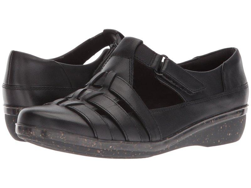 クラークス レディース スリッポン・ローファー シューズ Everlay Cape Black Leather