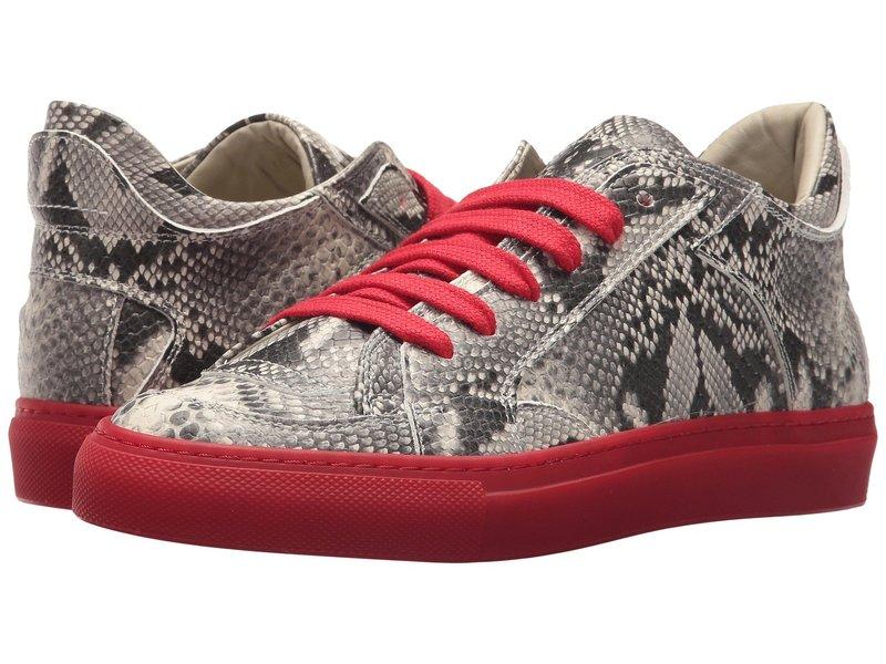 マルタンマルジェラ レディース スニーカー シューズ Contrast Lace Sneaker Light Grey/Black