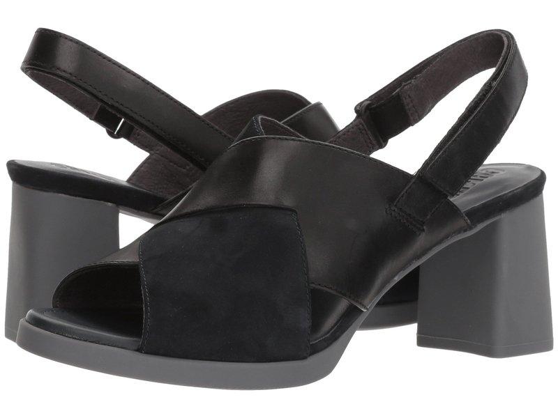 カンペール レディース ヒール シューズ Kara Sandal - K200559 Black