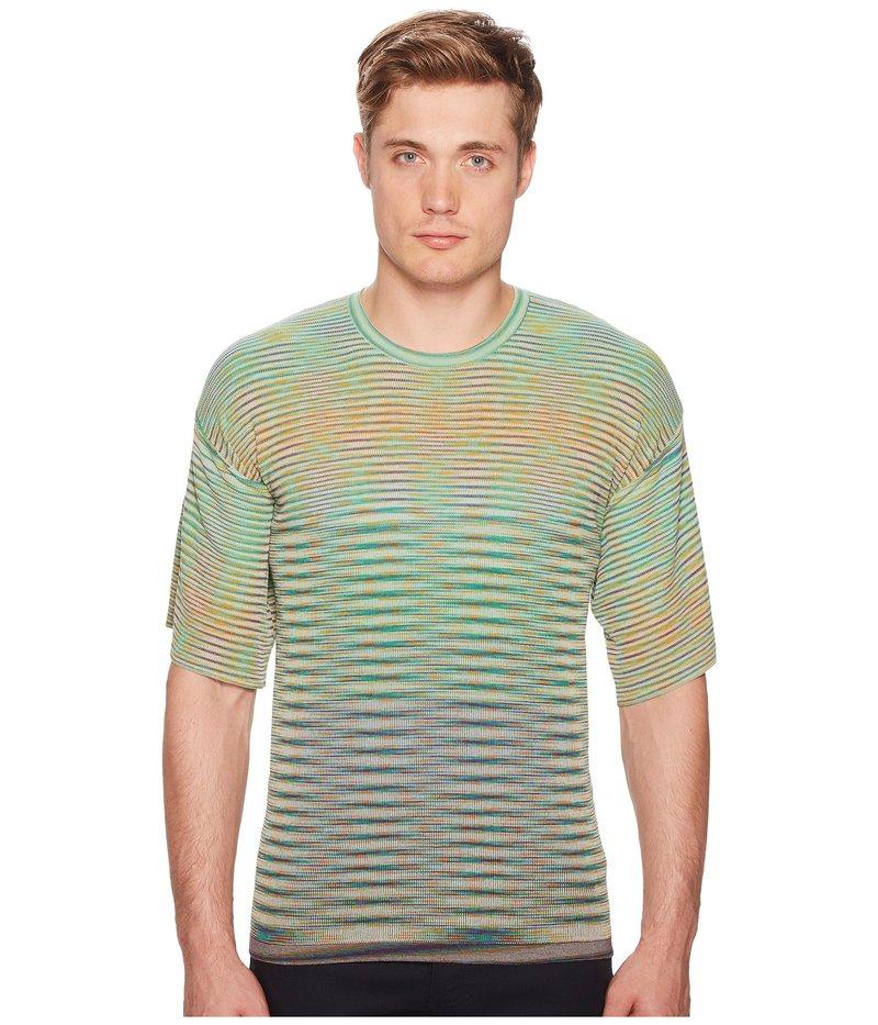 ミッソーニ メンズ シャツ トップス Oversized Pima Cotton T-Shirt Green