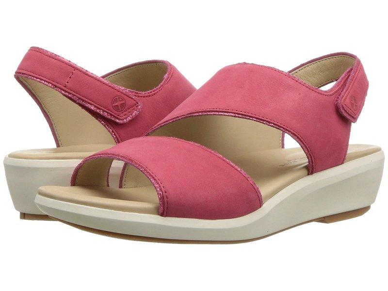 ハッシュパピー レディース ヒール シューズ Lyricale Slingback Paradise Pink Nubuck