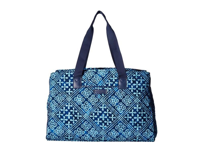 ベラブラッドリー レディース ボストンバッグ バッグ Triple Compartment Travel Bag Cuban Tiles