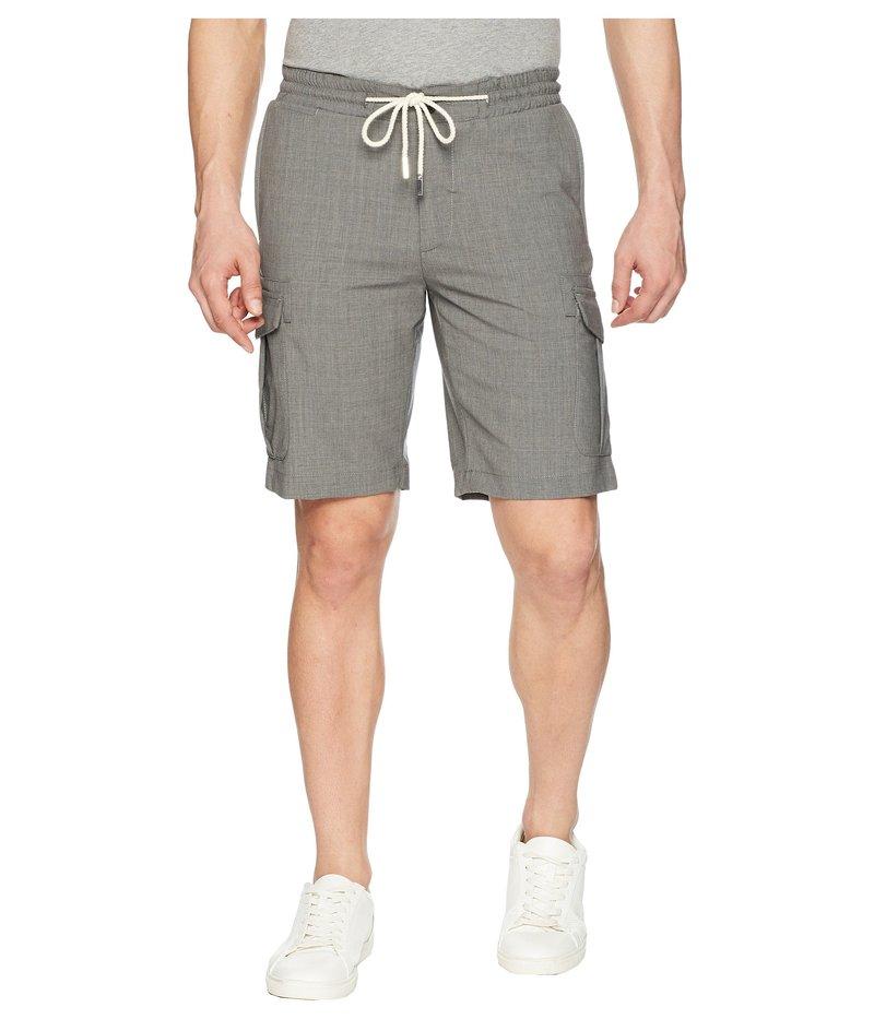 イレブンティ メンズ ハーフパンツ・ショーツ ボトムス Bermuda Cargo Shorts w/ Drawstring Grey