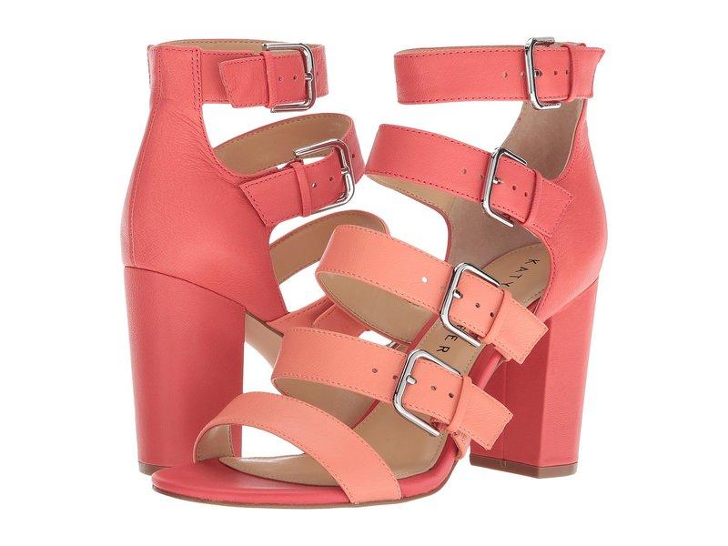 ケイティ ペリー レディース ヒール シューズ The Lizette Pop Pink/Coral Soft Tumbled Leather