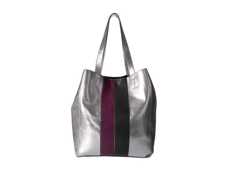サムエデルマン レディース ハンドバッグ バッグ Jovie Panel North/South Handbag Silver