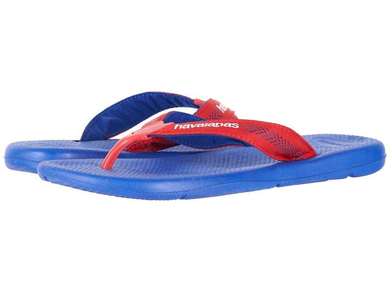 ハワイアナス メンズ サンダル シューズ Surf Pro Flip Flops Marine Blue