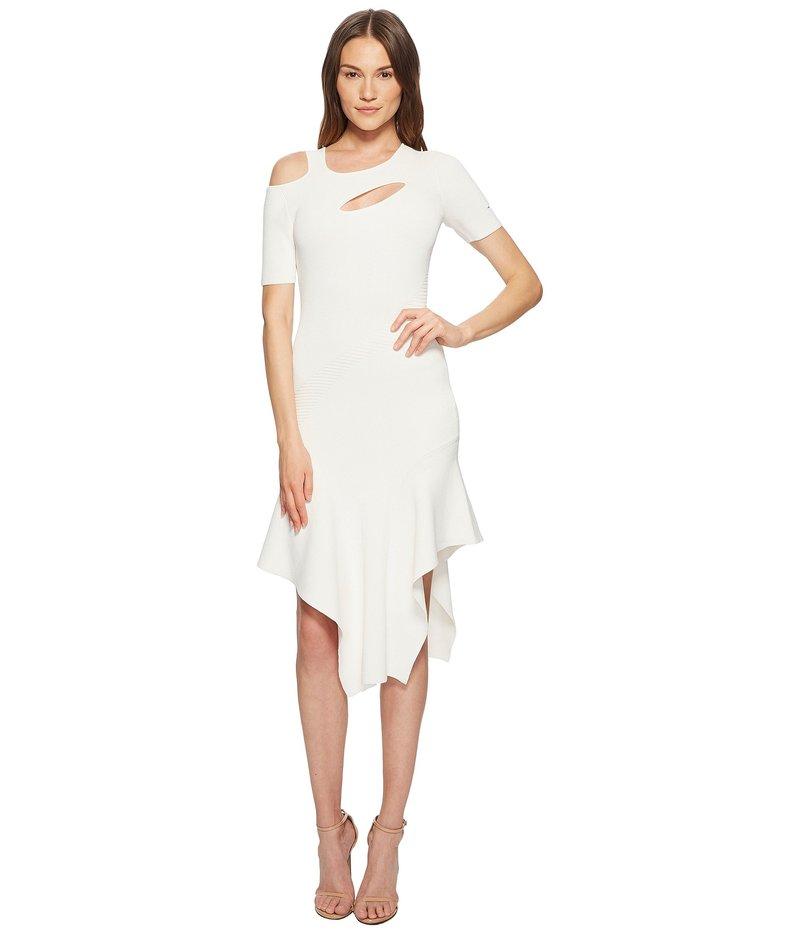 イエガルズロール レディース ワンピース トップス Cut Out Asymmetrical Dress Optic