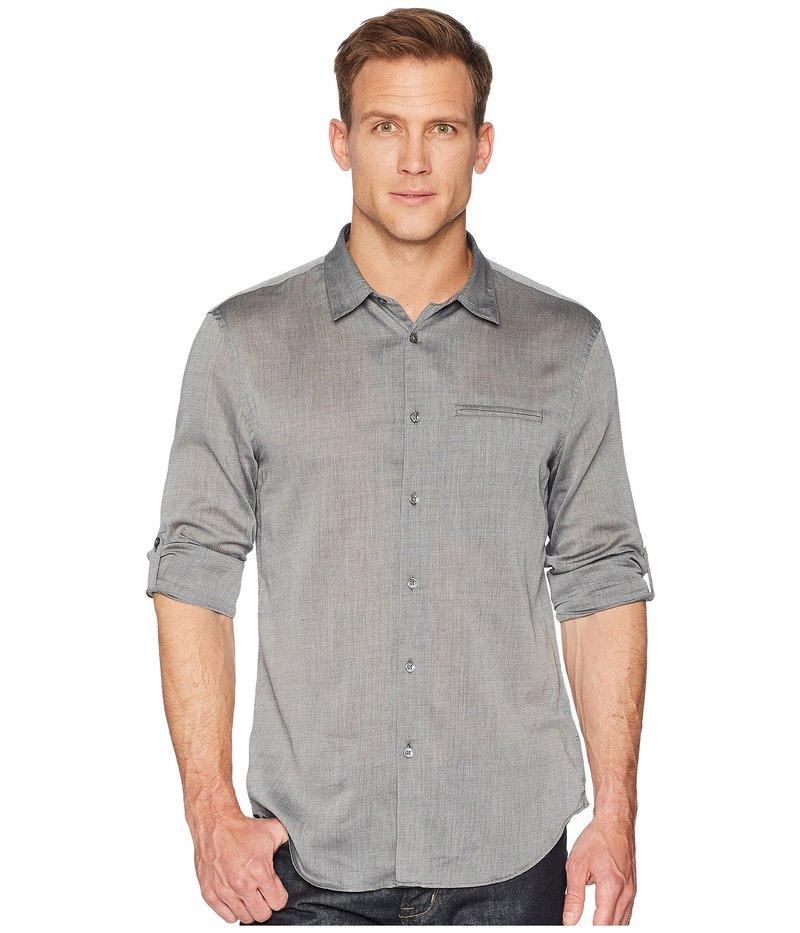 ジョンバルベイトス メンズ シャツ トップス Slim Fit Sport Shirt W375U1 Grey Heather
