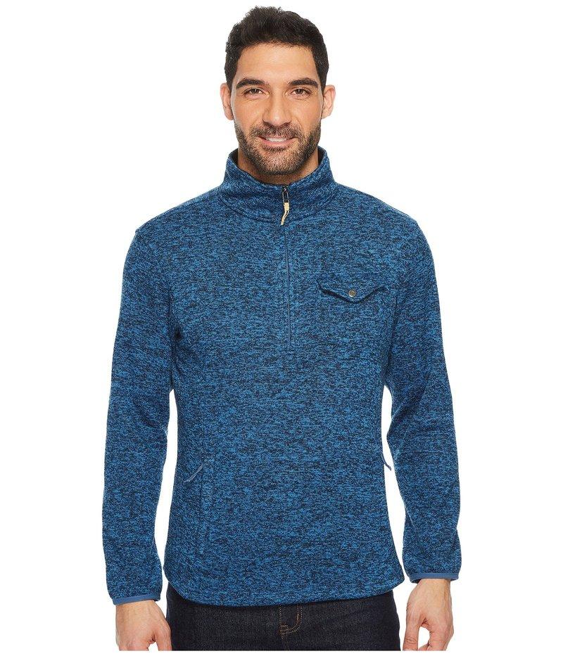 マウンテンカーキス メンズ ニット・セーター アウター Old Faithful 1/4 Zip Sweater Twilight