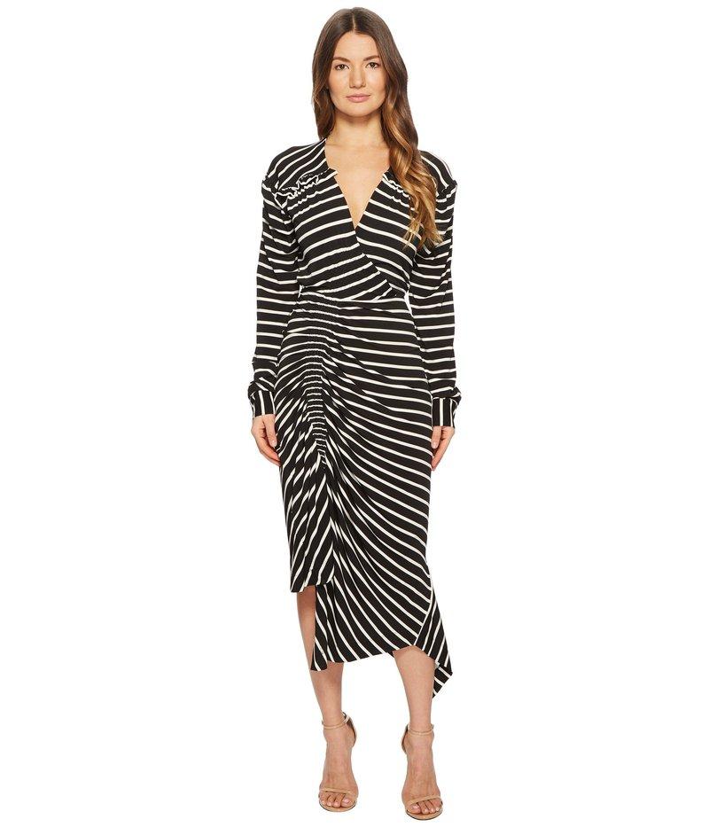プリーン ソーントン ブルガッジ レディース ワンピース トップス Annabel Dress Black/White Stripe