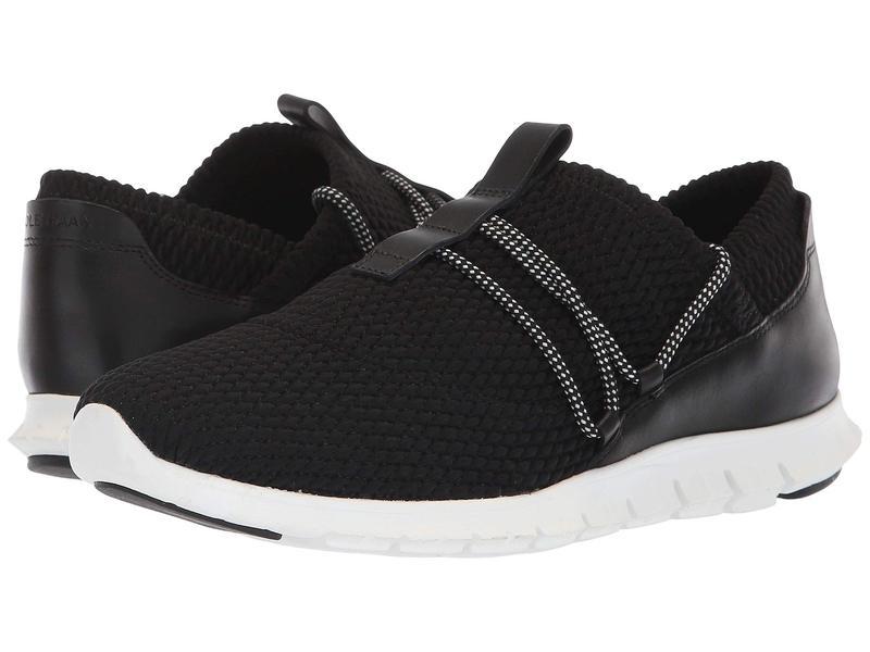 コールハーン レディース スニーカー シューズ Zerogrand Quilted Sneaker Black Quilt Stretch