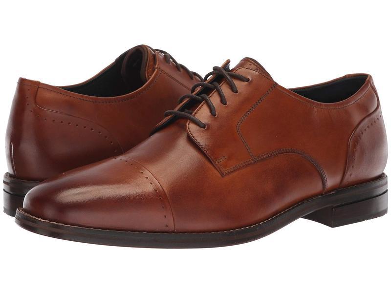 コールハーン メンズ オックスフォード シューズ Giraldo Grand 2.0 Cap Toe Oxford British Tan