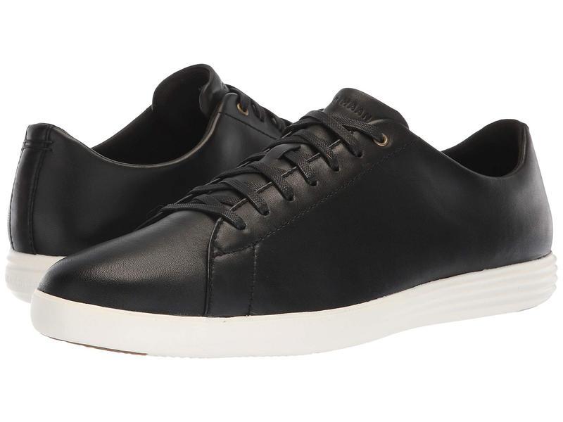コールハーン メンズ スニーカー シューズ Grand Crosscourt Sneaker Black Leather/Optic White