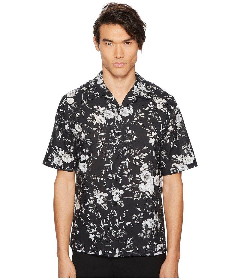 アレキサンダー・マックイーン メンズ シャツ トップス Floral Billy Shirt Grey