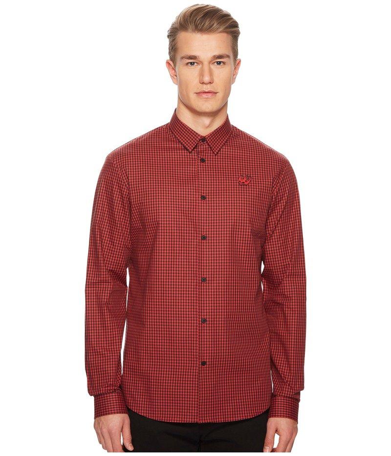 アレキサンダー・マックイーン メンズ シャツ トップス Sheehan Shirt Red/Black
