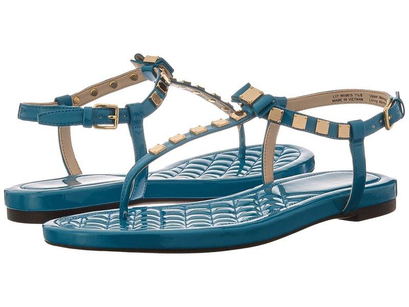 コールハーン レディース サンダル シューズ Tali Mini Bow Studded Sandal Tahitian Tide Patent